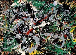 $enCountryForm.capitalKeyWord Australia - Jackson Pollock Handpainted & HD Print Home Decor Wall Art Graffiti Abstract Oil Painting On Canvas High Quality Frame Options jk10
