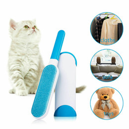 Dust Cleaner Hair Australia - Pet Hair Remover Dog Comb Tool Brush Magic Fur Cleaning Brushes Reusable Device Dust Brush Electrostatic Dust Cleaners