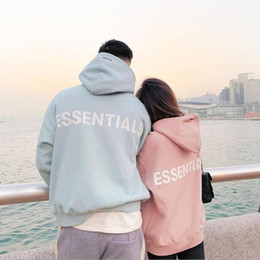 Wholesale lining pants resale online – New Multi line M Reflective Letter Embroidered Casual Pants Trousers Double Line Sweatshirt Pullover Hoodie Men Women Unisex