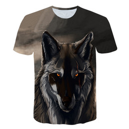 83ddee06a 2019 T Shirts Men 3d Shirt Unisex Casual Tops Outwear Funny Animal Unicorn T  Shirt Tiger Lion Wolf Shirts