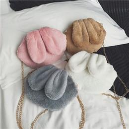 Cloth hobo bags online shopping - Ins Fasshion Children Cross Body Cute Robbits Cloth Bags Girl Gift Fashion Bags Classical Kids Rubbits Ears Bag