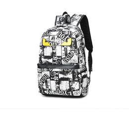 High Quality Backpack Brands Australia - New Designer Brand Backpack Handbag High Quality Double Shoulder Backpack Outdoor Traveling Letter Printed School Bags Free Shipping