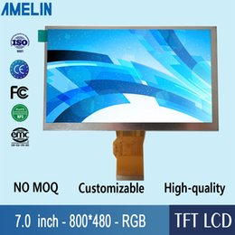 interface driver NZ - 7 inch 800*480 TFT LCD module display with RGB interface and EK9716 Driver IC screen from amelin