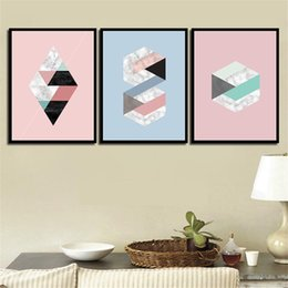 Wall Graphics Prints Australia - Nordic Style Minimalist Poster Modern Canvas Abstract Graphics Art HD Print Painting Wall Pictures For Home Wedding Decoration