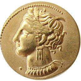 Опт G (31)Карфаген Zeugitania Электрум статер 310bc Танит лошадь древнегреческая монета