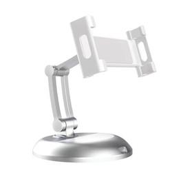 Solid Aluminium Alloy Adjustable Desktop Stand Holders for Tablets & Smartphones holders on Sale