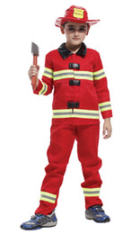 $enCountryForm.capitalKeyWord UK - Shanghai Story Fireman Role Play Costume for Kids, Boys' and Girls' Firefighter Dress up and Play Set