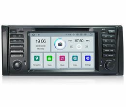 "5.7 Inch Touch Screen Australia - COIKA 7"" Android 9.0 System Car DVD Head Unit For BMW 5 Series E53 X5 E53 GPS Navi Mirror Stereo WIFI Google 1080P Video SWC BT"