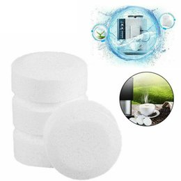 20 tablets UK - 10 20 30pcs Automatic Coffee Machine Cleaning Tablets In Addition To Scale Effervescent Tablets Descaling Cleaning Accessories