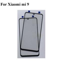 $enCountryForm.capitalKeyWord Australia - 2PCS For Xiaomi Mi 9 Mi9 Front LCD Glass Lens touchscreen For Xiao mi 9 Mi9 Touch screen Outer Screen Glass without flex