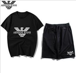 $enCountryForm.capitalKeyWord Australia - Mens Designer Tracksuits Sportswear Men's Jogging Suits Short Sleeve T Shirt and Shorts Spring Summer Casual Unisex Brand Sportswear