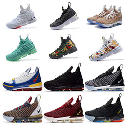 reputable site c124f 9cb52 2019 Rainbow CNY THRU LMTD 15 Start von Oreo 15s FRISCHE BREDT Was die XVI  16 james Multicolor-Basketballschuhe LeBRon 16s Wolf Grey Sport