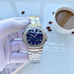 Venta al por mayor de Luxuey levantó la muñeca calidad relojes de oro alado movimiento automático Reloj RelojPATEK PHILIPPELos relojes de los hombres de 00 [no fuera lana cobertizo] D263