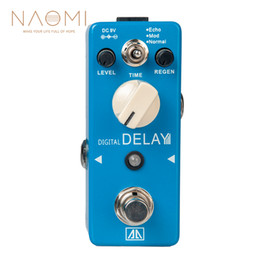 Echo Pedals Australia - NAOMI Aroma APE-5 Guitar Effect Pedal Digital Delay Guitar Effect Pedal 3 Modes Dealy Effects Aluminum Alloy Body True Bypass