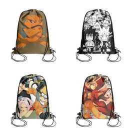 cool cooler parts Australia - Naruto shippuden gamakichi part iiFashion sports belt backpack, design cool limited edition reusable string package, suitable for gym ii
