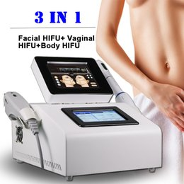 Discount face slimming equipment - portable ultrasound machine face lifting Hifu Vaginal tightening machine for body slimming wrinkle removal Equipment CE