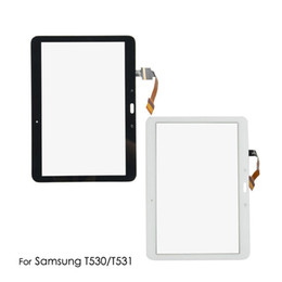 $enCountryForm.capitalKeyWord Australia - Touch Screen For Samsung Galaxy Tab 4 T530 T531 T535 SM-T530 Tab4 LCD Lens Glass Outer Front Panel 10.1 inch