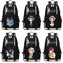 Jack Gifts Australia - Game Identity V Jack Gardener Game Backpack bags Student Schoolbags School Backpack Teens Boys Girls Cartoon School Bags Gifts