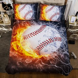 Dreaming pillow online shopping - Dream NS D Baseball Duvet Cover Europe Australia USA Canada Standard Size Bedding Sets Pillow Cases Drop Shipping PN002