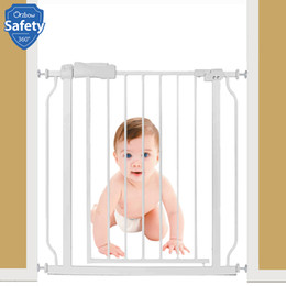 kids safety gates Canada - Baby Safety Gate Security Stair Gate Fence For Kids Protection Durable Pets Dog Cat Isolating Barrier Door Children Safe Product T200330