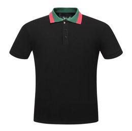 $enCountryForm.capitalKeyWord UK - Men Polos Letter G Fashion Polo Shirts Designer Cotton Polos Top Tee For Men