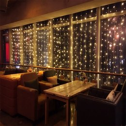 $enCountryForm.capitalKeyWord UK - 10mx1.5m 480 LEDs Twinkle Lights Window Curtain String Light 8 Flashing Modes LED Curtain Fairy String Wall Lights Party Wedding Decorative