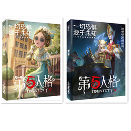Discount series package - Horror Game Identity V HD Animation Series Bookmark Poster Postcard Card Notebook Gift Package All Characters Anime Game