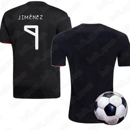 5b2b3035f Maillot de fútbol de México 2019 Copa de Oro kits de camiseta de fútbol  femenino negro CHICHARITO LOZANO MARQUEZ DOS SANTOS GUARDADO jerseys
