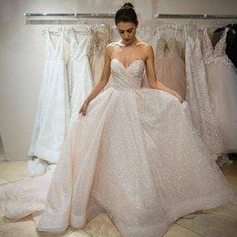 c943d7b7d8 Strapless Princess Wedding Dresses Bling Online Shopping | Strapless ...