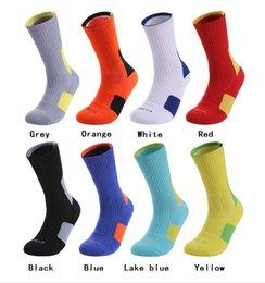 Male Family Australia - Men Towel Bottom Basketball Training Socks Breathable Anti-slip Soccer Riding Fitness knee-high Male Sports Socks