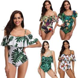 $enCountryForm.capitalKeyWord Australia - Sexy Ruffle Beach Swim Wear One Piece Women Bathing Suit Swimwear Swimsuit Swimming Suit For Women Bikini Plus Size Xxxl 2019 Y19062901