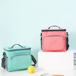$enCountryForm.capitalKeyWord Australia - Picnic Cold Package Portable Oxford Cloth Thermal Cooler Tote Lunch BBQ Ice Pack Insulation Bag Storage Box HK0194