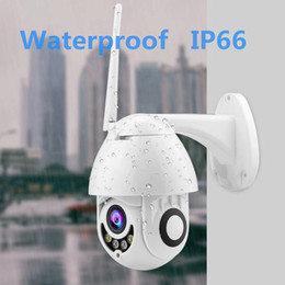 Weatherproof Wireless Ip Security Camera Australia - Anspo Full HD 1080P IP PTZ Camera WiFi Speed Dome 360 CCTV Camera Waterproof Wireless Security Video Audio Camara ipcam EU Plug