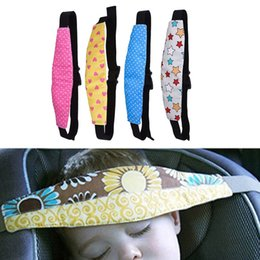 Kids Car Seat Belt Australia - 1Pcs Fixing Band Baby Kid Head Support Holder Sleeping Belt Car Seat Sleep Nap Holder Belt Baby Stroller Safety Seat
