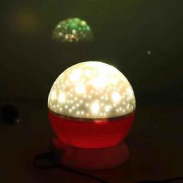 Floral Lighted Wedding Balls Australia - Free Shipping Ball LIGHT Optical Illusion Light 3D Custom Christmas Night bright LED lamp Desk Table Light book Child Decoration Gifts