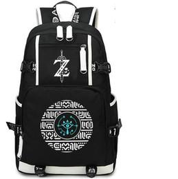 Rune backpack The Legend of Zelda day pack Magic style game school bag  Print packsack Computer rucksack Sport schoolbag Outdoor daypack 4bcdd486b7