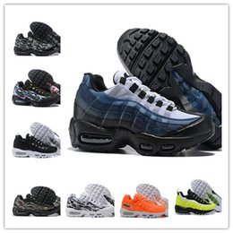Camouflage Soccer Shoe Australia - 95s chaussure camouflage Original Mens Running Shoes Men Sports Trainers brown Black White Designer Sneakers