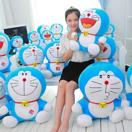 Cat Doraemon Doll Australia - plush toys Duo a dream jingle cat Doraemon Stuffed doll toy Totoro For Kids Toys Cartoon Figure Cushion dolls brinquedos