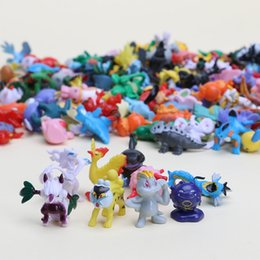 $enCountryForm.capitalKeyWord Australia - 3sets 144pcs set 1inch 2-3cm Different Style Mini Anime Doll Toys Eevee Pvc Action Figure Character Collecting Y190604