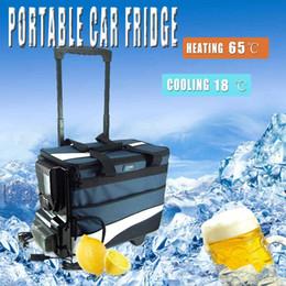 Портативный Автомобильный Холодильник Мини-Рычаг Холодного и Теплого Двойного Назначения 12 В 12L AutoTruck Домашняя Морозилка Путешествия Автомобильный Холодильник Охлаждения