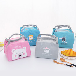 $enCountryForm.capitalKeyWord Australia - Lunch bag New Korean Portable Student Insulation Pack Small Portable Lunch Bag Bento Pack Thicken Children's Insulation Bag