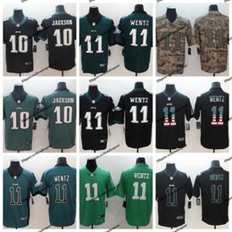6a5dafd373d 2019 Camo Salute to Service Philadelphia 11 Eagles Carson Wentz Football Jersey  10 DeSean Jackson Vapor Untouchable Stitched Football Shirt