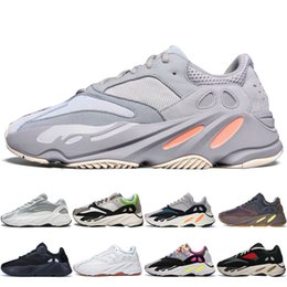 dc012ea2e With Box New Kanye West 700 V2 Static 3M Mauve Inertia 700s Wave Runner  Mens Running shoes for men Women sports sneakers designer trainers