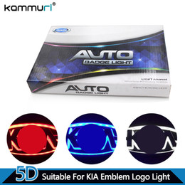 Chinese  KAMMURI Car Styling 5D Before Rear Badge Logo Light for Kia K5 SORENTO SOUL Forte CERATO Before Rear Emblem Logo Light manufacturers