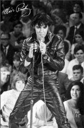 $enCountryForm.capitalKeyWord Australia - ELVIS PRESLEY 1968 Live in Concert RARE wall decor Art Silk Print Poster 1654