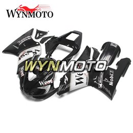 $enCountryForm.capitalKeyWord Australia - Brand New West White Black Cowlings For Yamaha YZF1000 R1 2000 2001 Complete Bike Body Frames R1 00 01 Aftermarket Motorcycle ABS Body Work