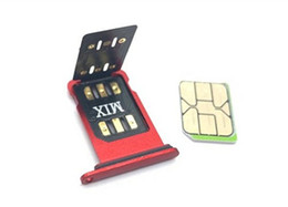 New Original Chinasnow Unlock SIM MIX V1.39 for iP6-XR 11 12Series with ICCID & IMSI Mode Unlock Sim Card Gevey Pro Double-SIM ONESIM on Sale