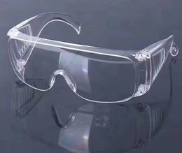 Clear Goggles for Kids Men Women's Glasses Anti-Fog Waterproof Spittle Prevention Goggles Can with Myopia Glasses on Sale