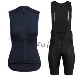 Cycling Clothing Spain Australia - Rapha women cycling jersey set spain MTB Pro team summer sleeveless Racing Bike Clothing Maillot Ropa Ciclismo Bicicleta
