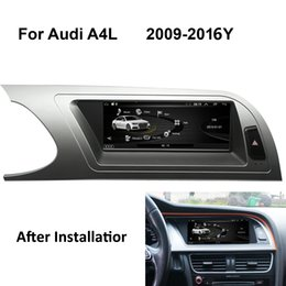 $enCountryForm.capitalKeyWord Australia - COIKA Car DVD GPS Navigation Stereo 8.8'' Android 8.1 System For Audi A4L 2009-2016 WIFI 2+32G RAM SWC Bluetooth Video Google Phonebook AUX